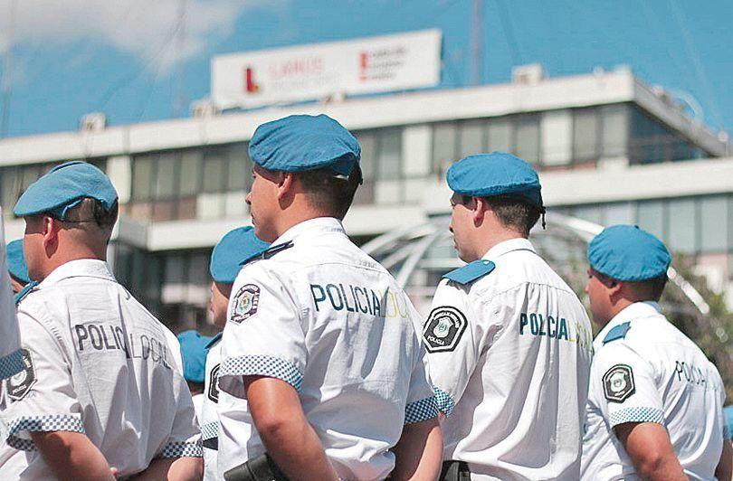 dLa Policía Local logró 898 aprehensiones en el último mes.