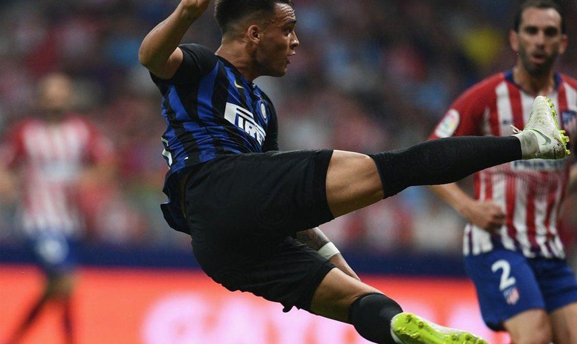 Un golazo de Lautaro Martínez le dio el triunfo al Inter frente al Atlético