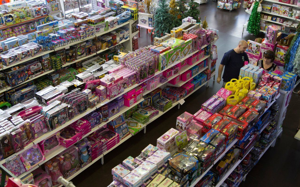 Día del Niño: hay poca gente en las jugueterías y crece la venta online