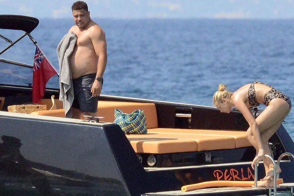 Ronaldo, internado de urgencia cuando estaba de vacaciones en Ibiza