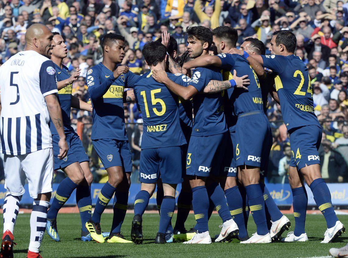 Boca le ganó bien a Talleres 1-0 con sus caras nuevas