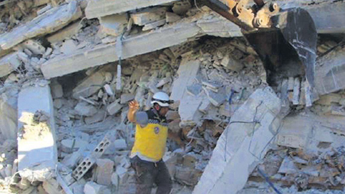 Siria: explosión en un depósito de armas