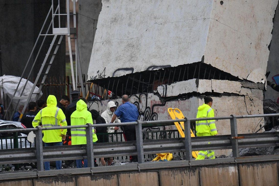 Nuevos videos del derrumbe: impactantes imágenes captadas por las cámaras de seguridad