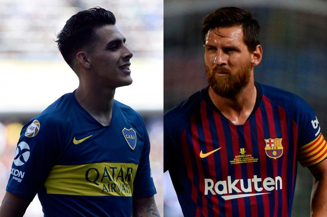 ¿Qué le regaló Lionel Messi a su nuevo amigo Cristian Pavón?