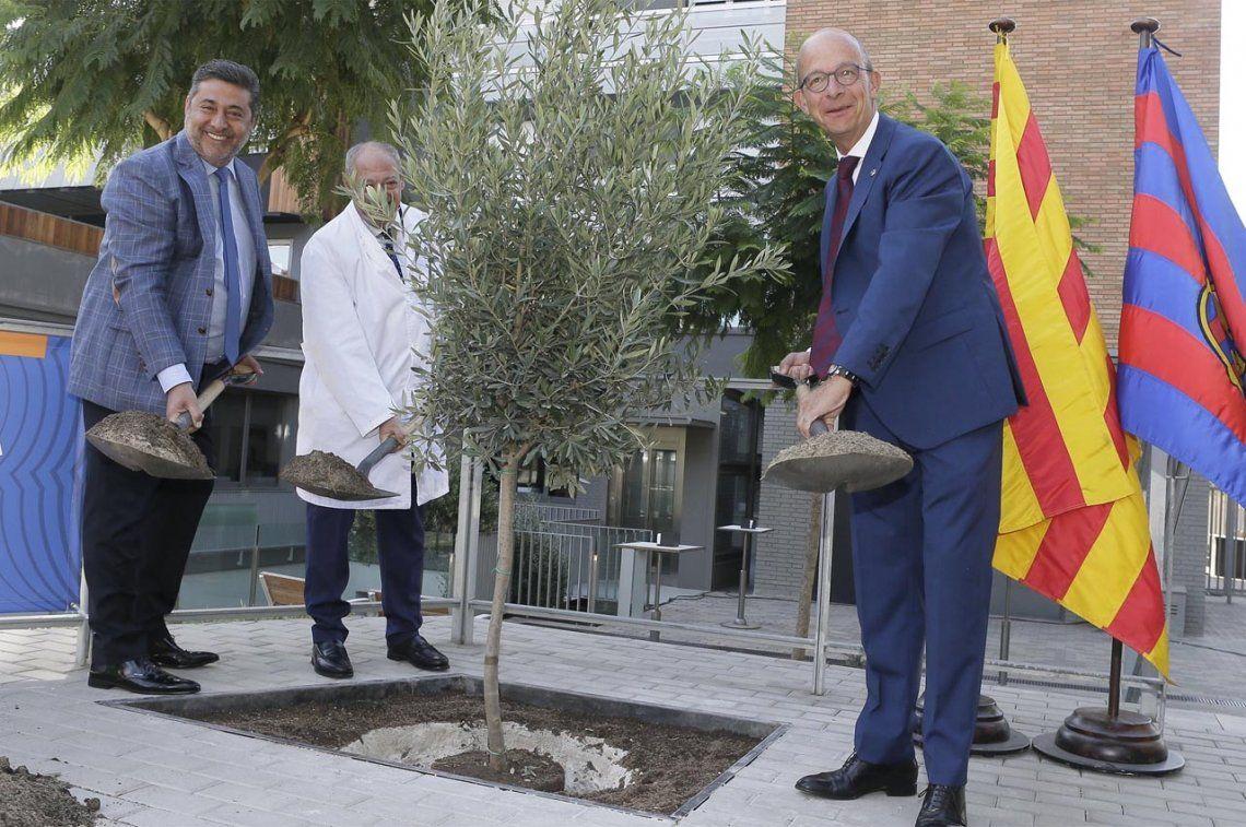 Scholas Occurrentes y Barcelona, juntos por la Paz