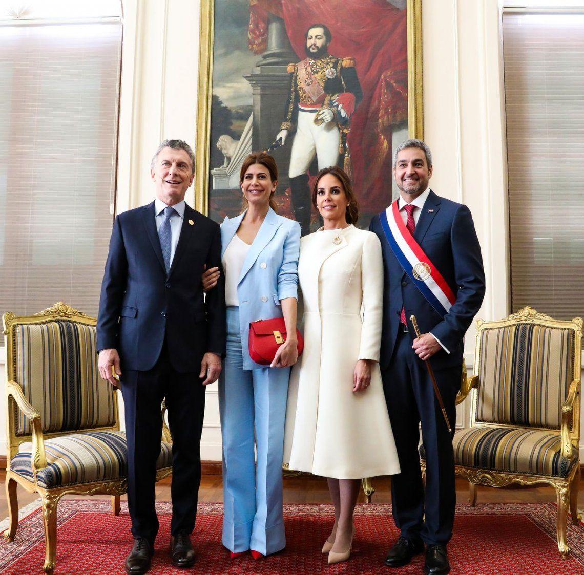 Macri asistió a la asunción del nuevo presidente de Paraguay, Mario Abdo