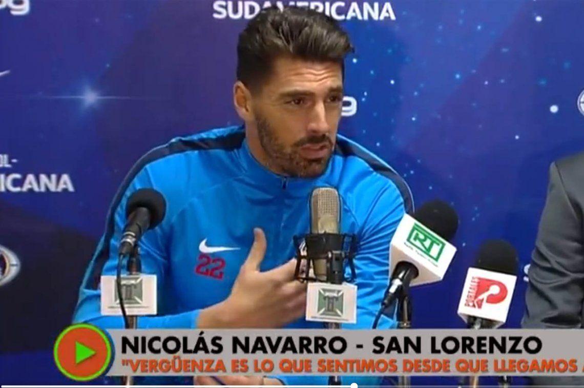 Nicolás Navarro, contra periodistas chilenos: De qué se ríen