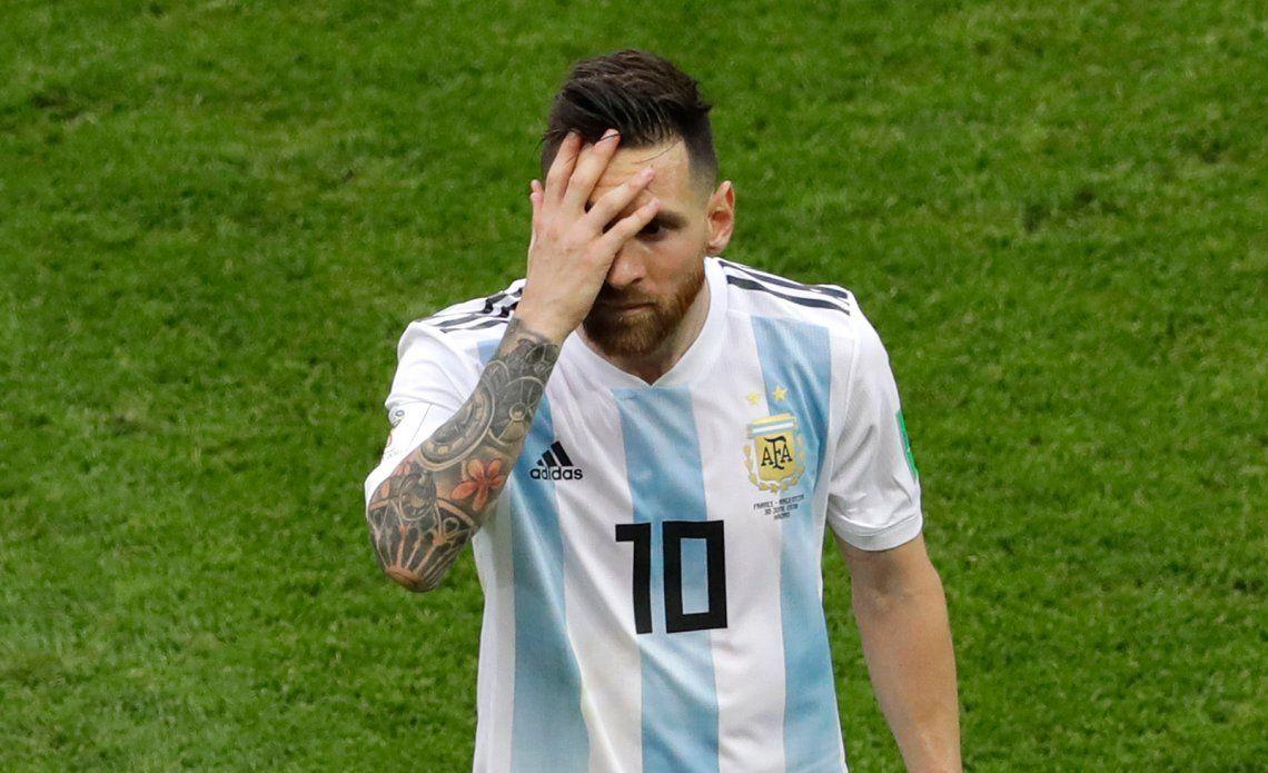 La Selección Argentina quedó afuera del Top Ten mundial