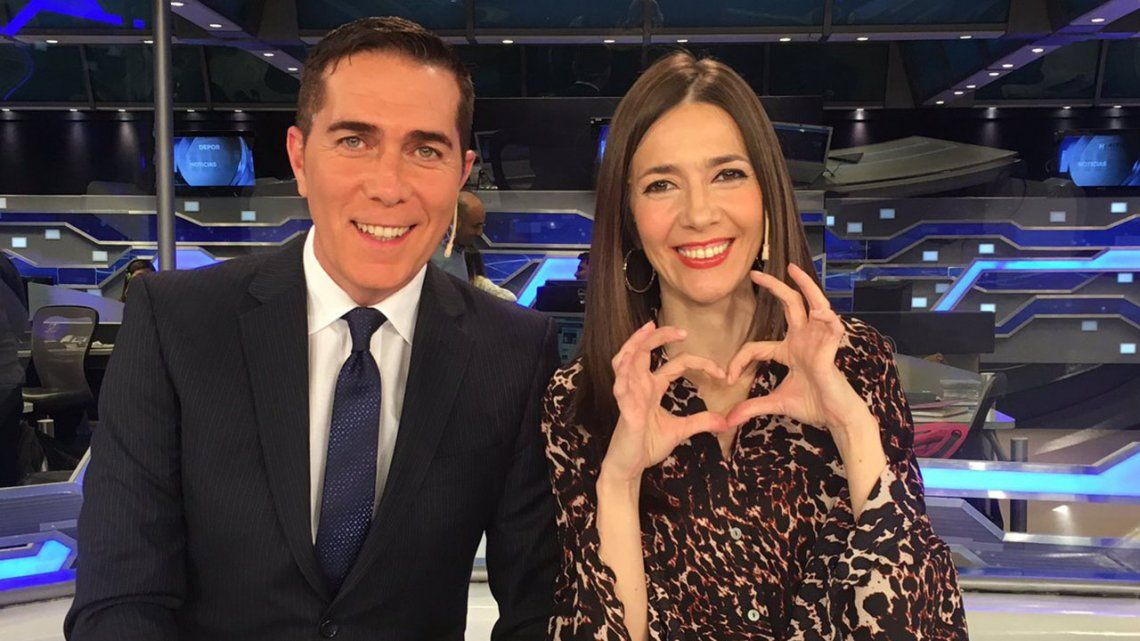 Rodolfo Barili y Cristina Pérez: de pareja de noticiero a ¿pareja en la vida real?