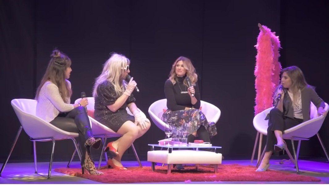 Dalma y Gianinna Maradona explosivas con Estelita, el personaje de Jey Mammon