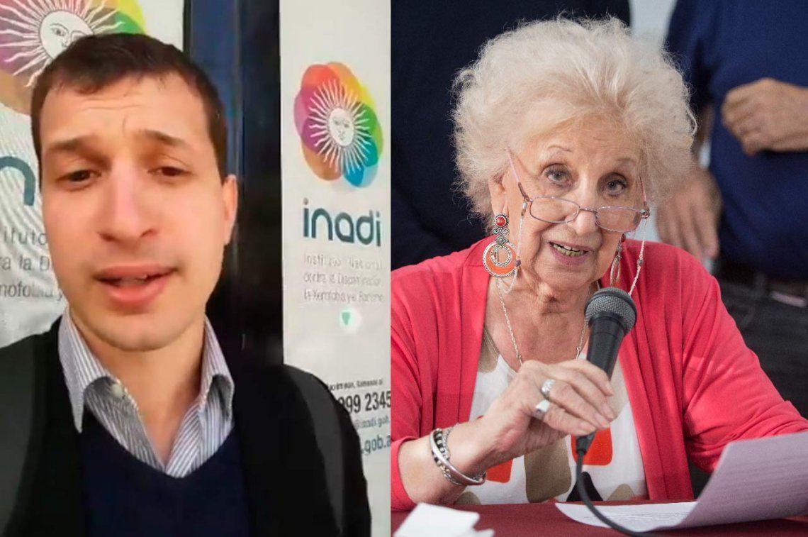 Denunciaron a Estela de Carlotto en el INADI por discriminación