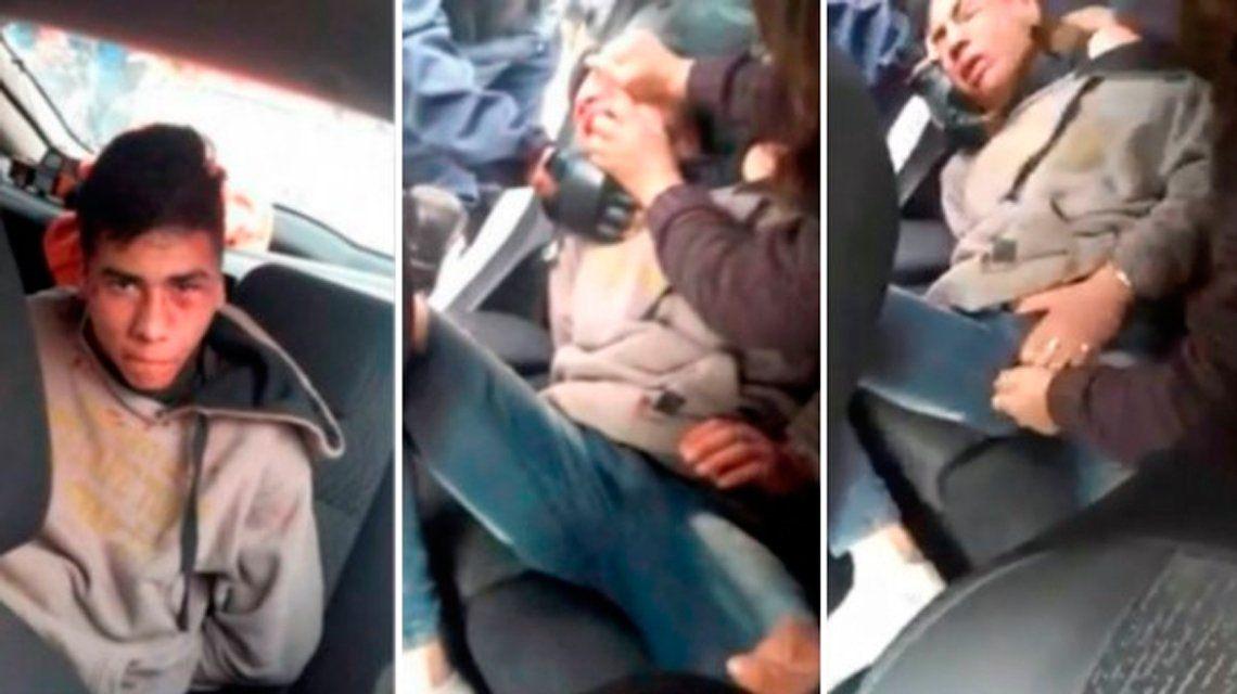 Lincharon a un ladrón y le apretaron los testículos ante la complicidad de un policía