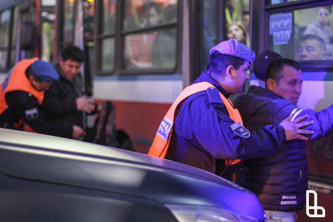 Operativos en colectivos: cerca de mil detenidos con droga en 6 meses