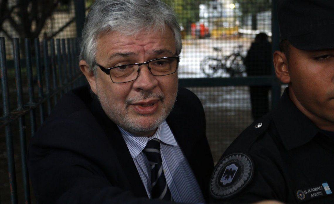 Causa de los cuadernos: Schiavi pidió la eximición de prisión
