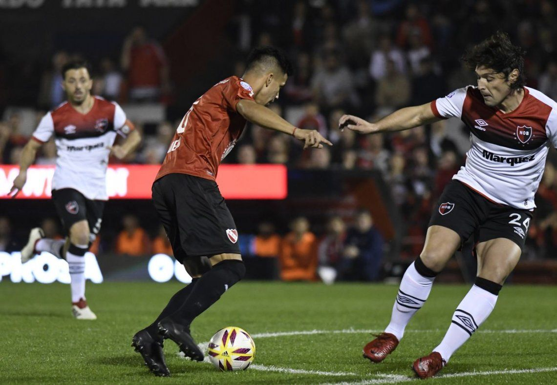 Independiente y Newells empataron en un partido intenso