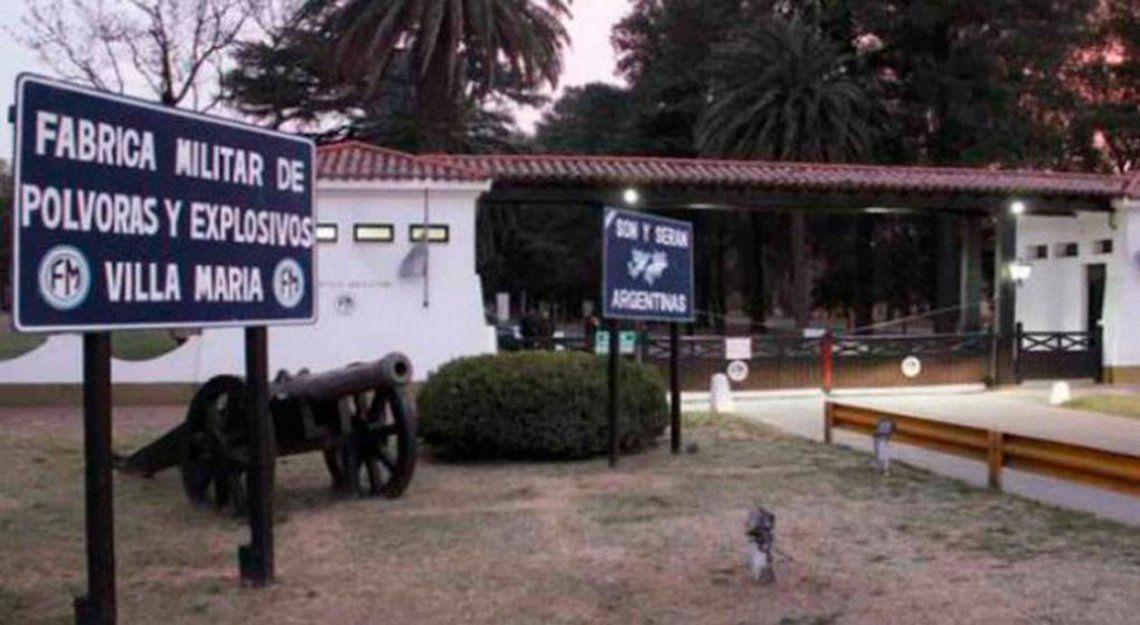 Fabricaciones Militares despidió más de 130 personas en Córdoba y Santa Fe