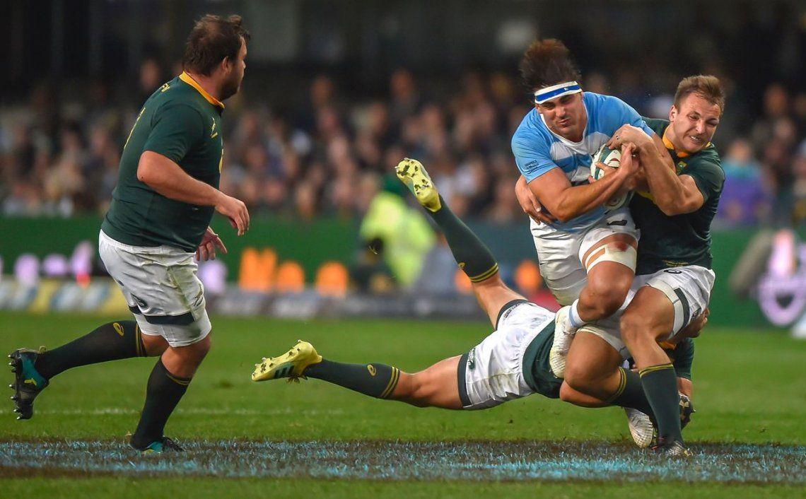 Los Pumas debutaron en el Rugby Championship con una derrota ante Sudáfrica