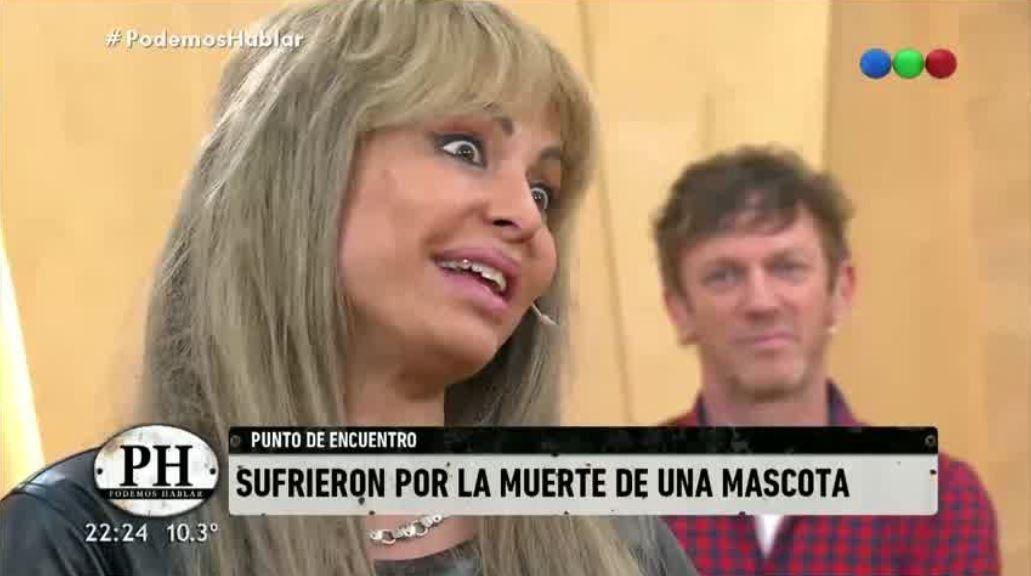 Daniela Cardone y su peluca fueron furor en PH y en las redes