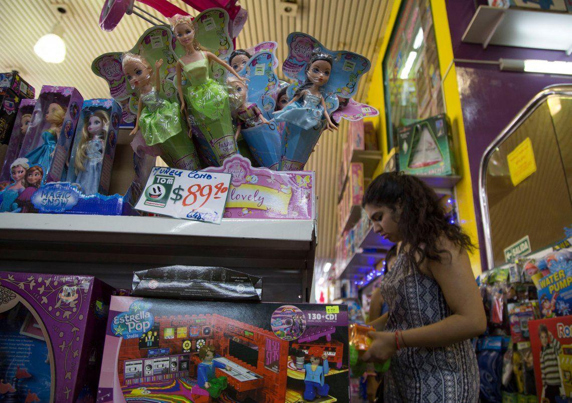 El precio de los juguetes aumentó un 48% con respecto al año pasado