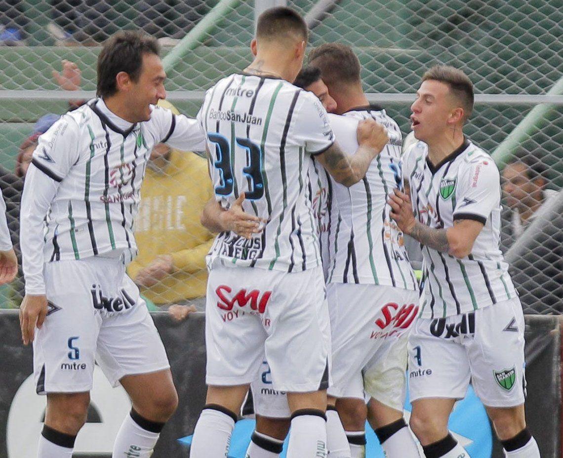 San Martín se quedó con tres puntos valiosos ante Patronato