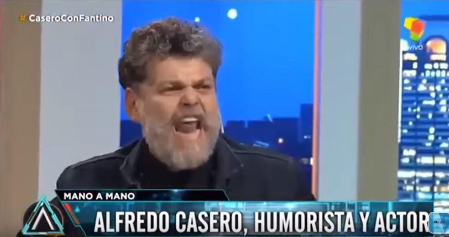 Alfredo Casero creó la metáfora del flan para volver a pegarle al kirchnerismo