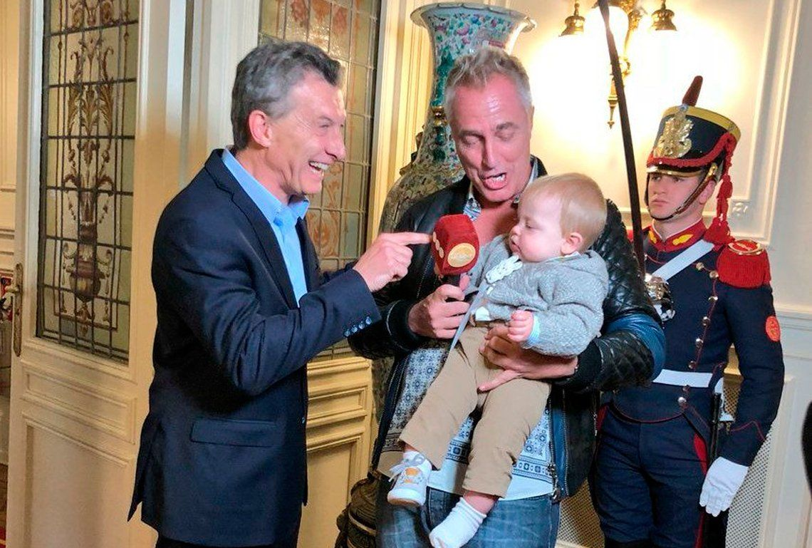 Emotivo: el encuentro entre Mirko y Macri en la Casa Rosada