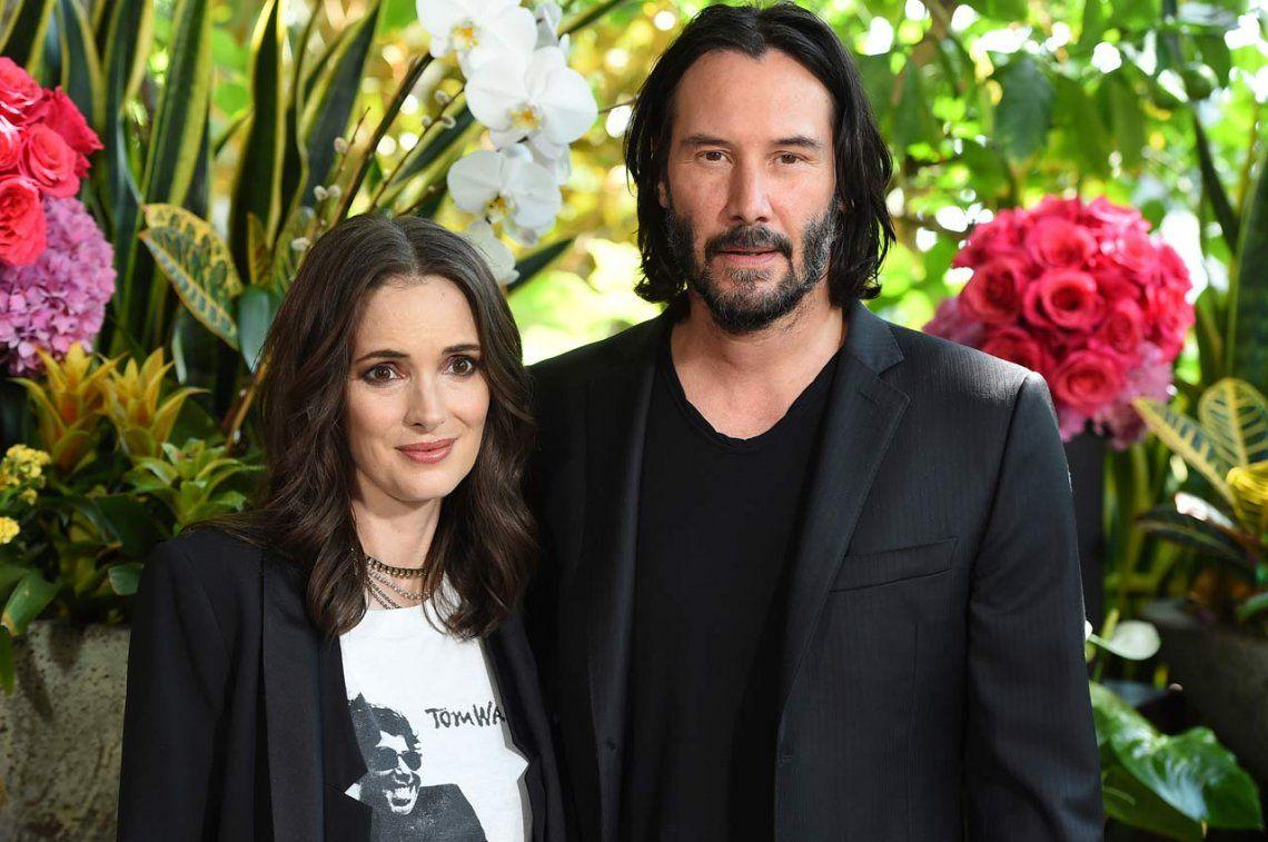 Winona Ryder y Keanu Reeves estarían casados... ¡desde hace 26 años!