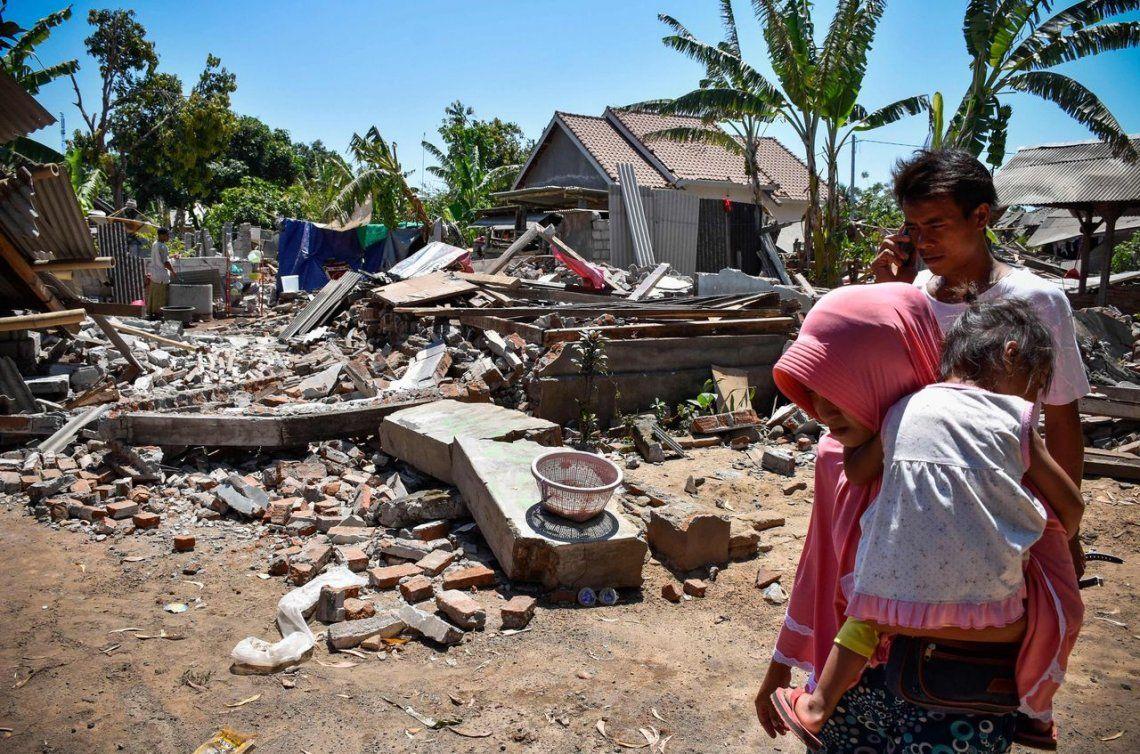 Dos nuevos sismos sacuden la isla de Lombok