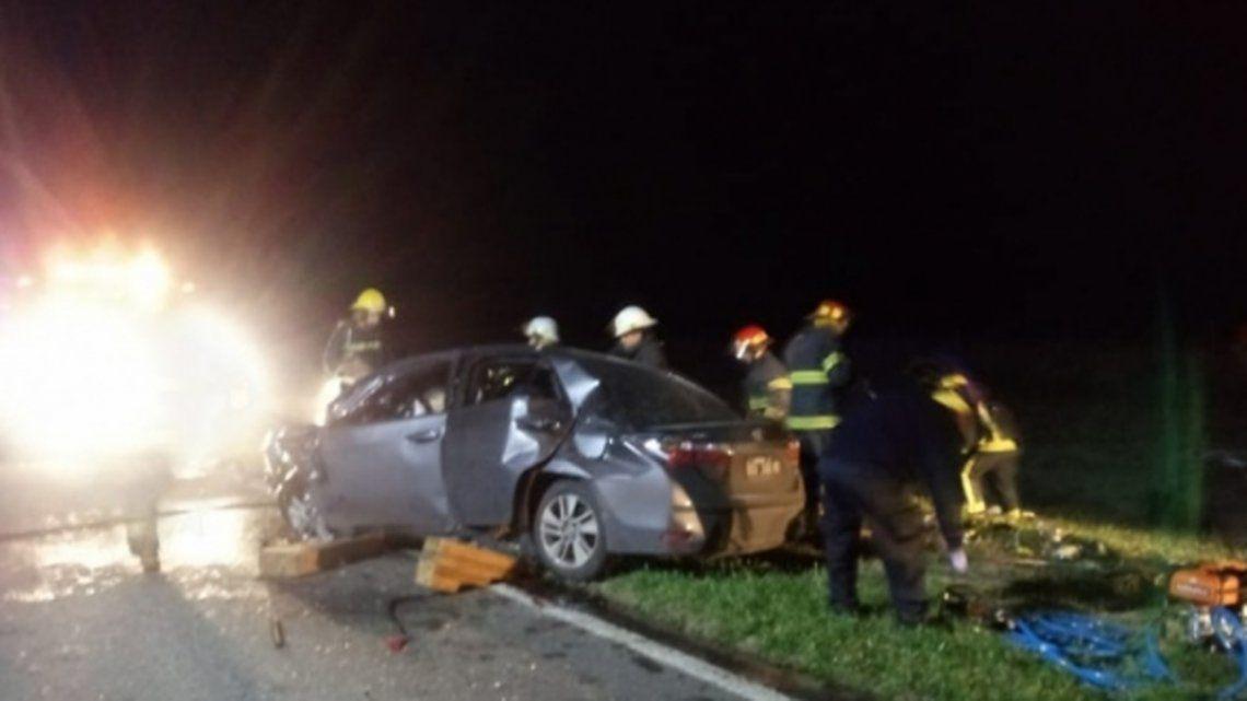 Fallecieron cuatro personas en un trágico accidente: dos eran rugbiers