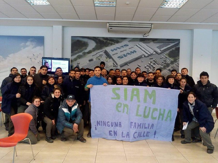 Se incrementa la tensión en la fábrica SIAM de Piñeyro