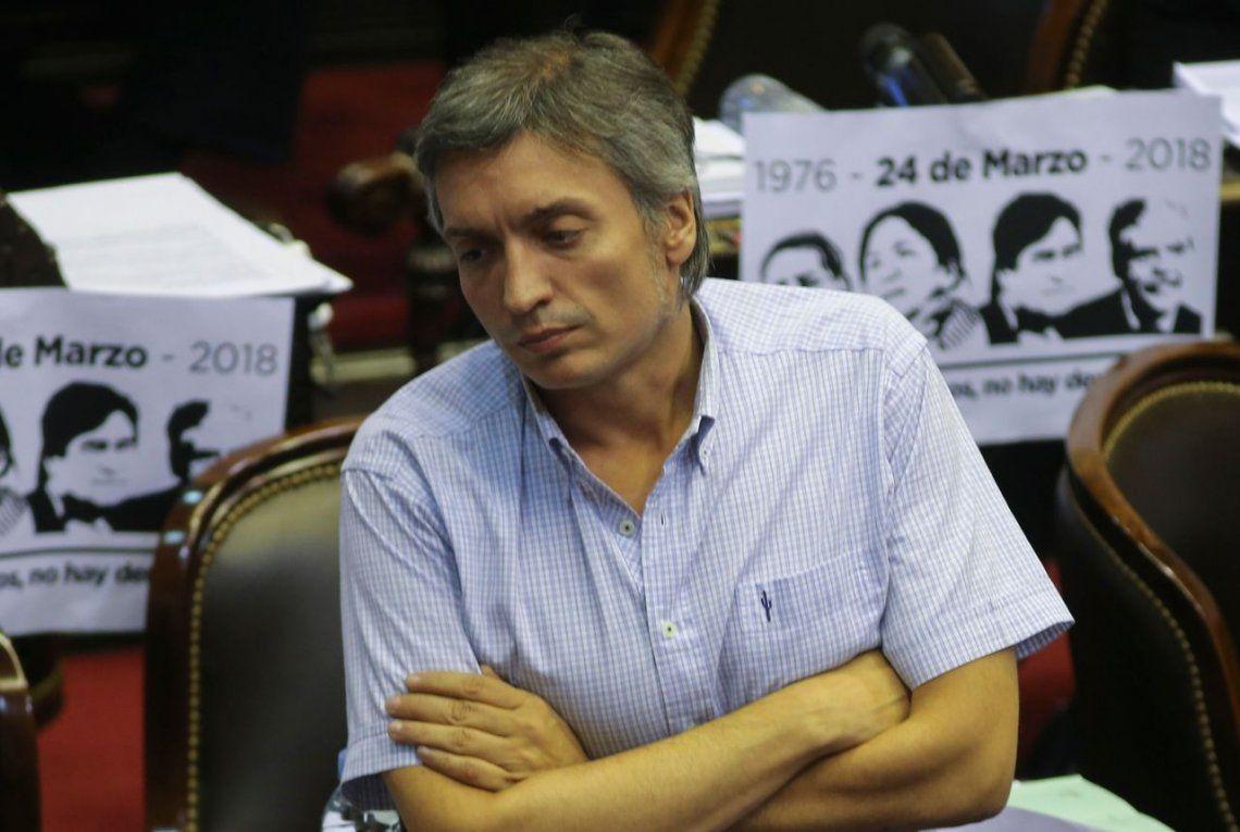 Stolbizer pidió que se investigue una bóveda de Máximo Kirchner