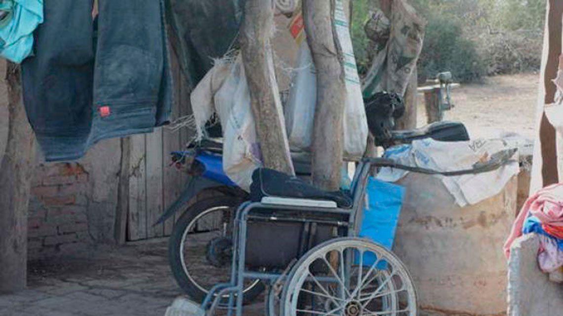 Descubren casa del terror en Santiago del Estero: violaciones incestuosas, torturas y un discapacitado encadenado