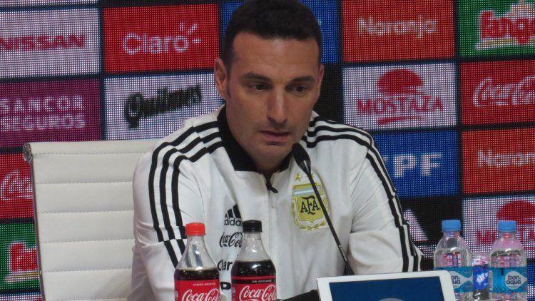 Scaloni: Ningún jugador me dijo que no quería venir a la Selección
