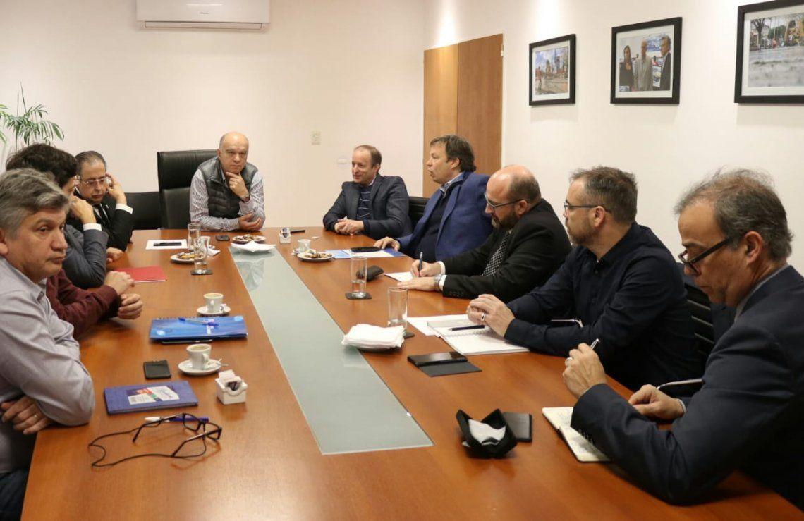 Nuevos directivos de EDESUR se reunieron con intendentes