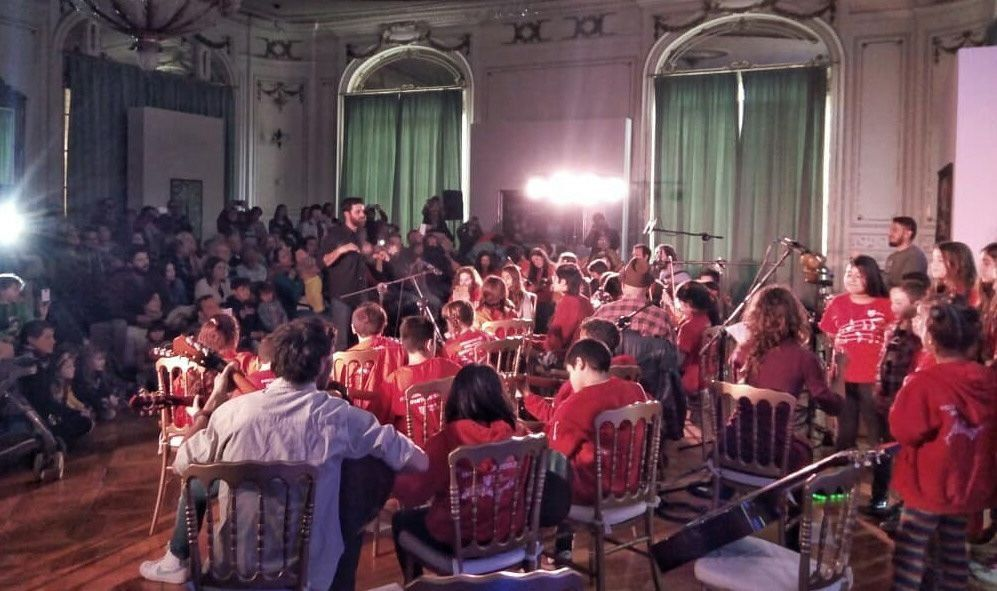 La Orquesta Infanto Juvenil del Delta se lució en el MAT