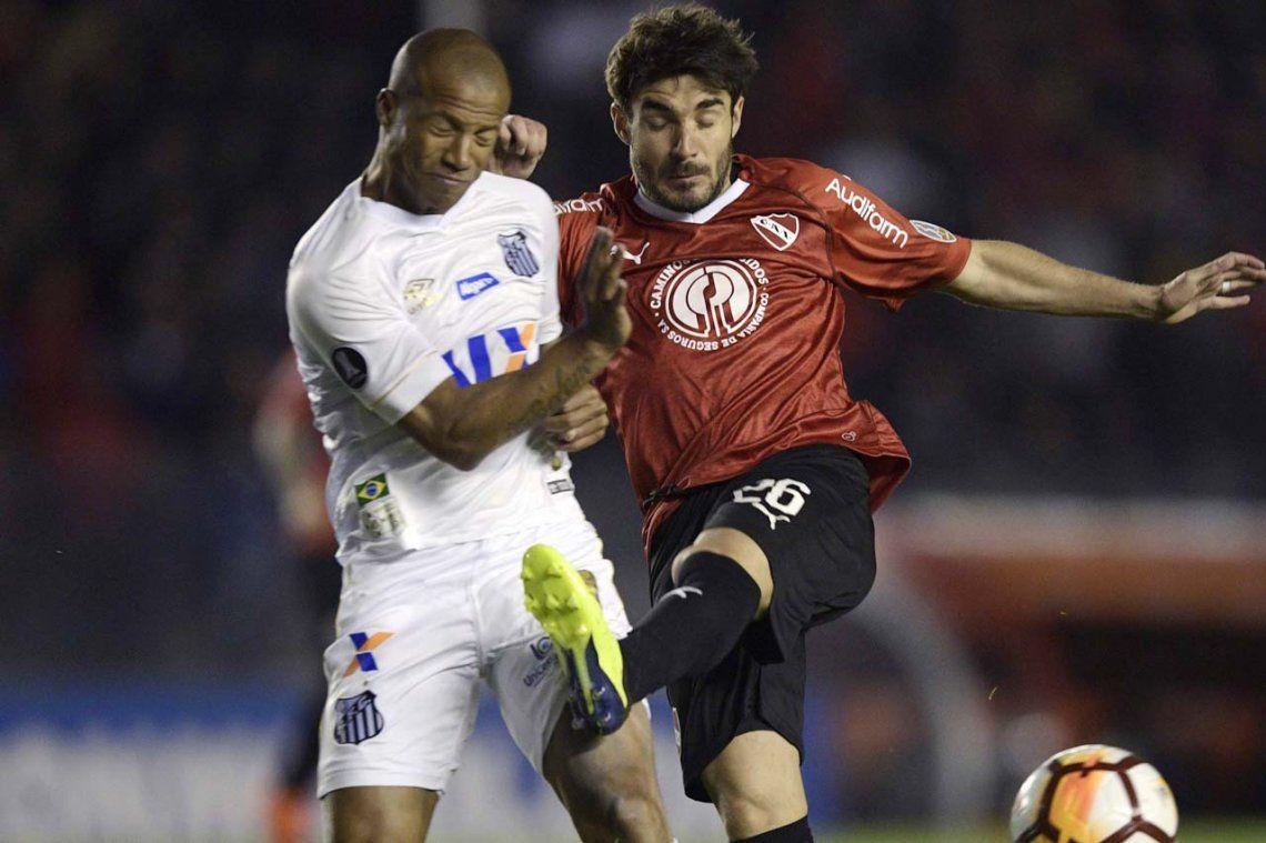 Independiente alzó la voz, la Conmebol escuchó y sancionará a Santos