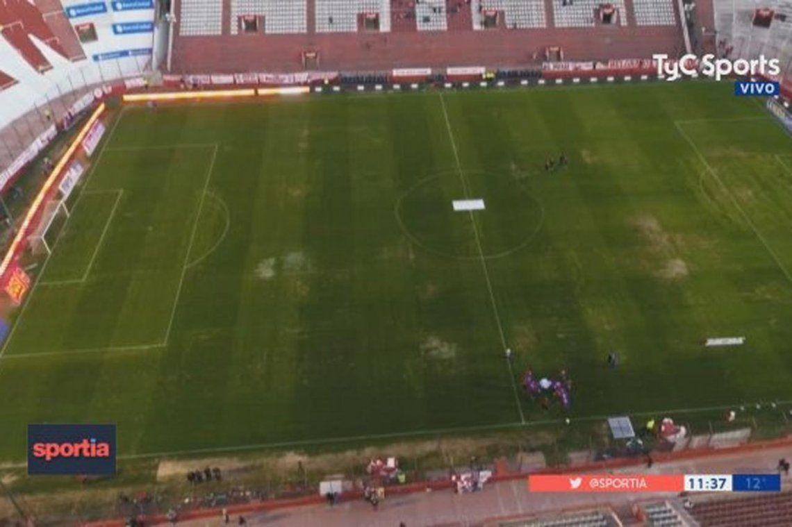 Huracán, multado por el estado de campo de juego ante River: ¿Dónde jugará ante Boca?