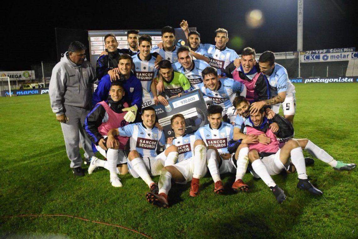 Atlético de Rafaela sorprendió a Lanús y lo eliminó de la Copa Argentina