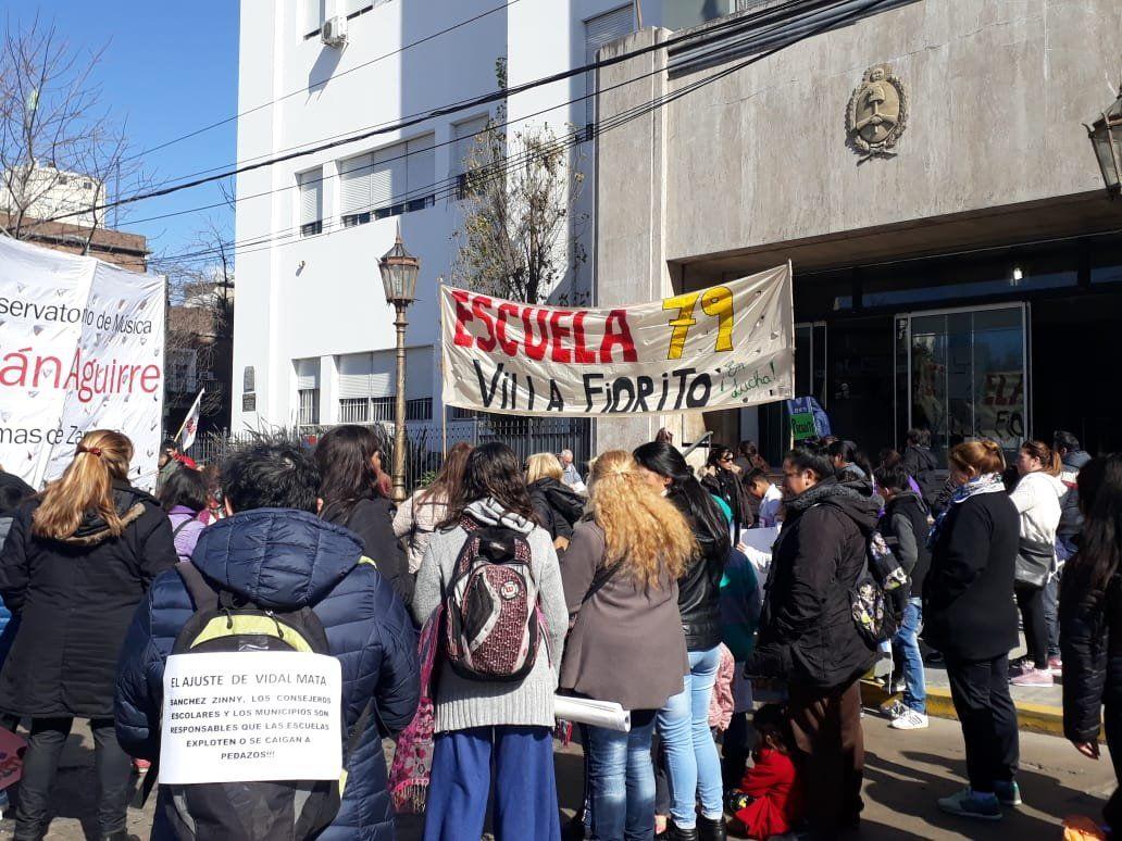 Cuatro de cada diez escuelas de Lomas de Zamora están sin gas