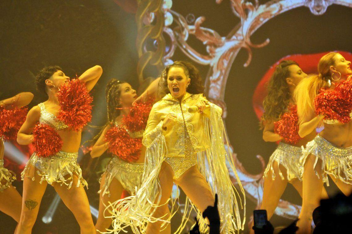 Las mejores fotos del show de Lali en el Luna Park