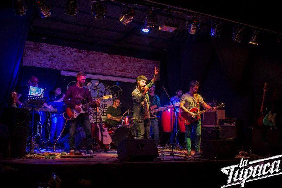 La Tupaca graba en vivo en El Padilla