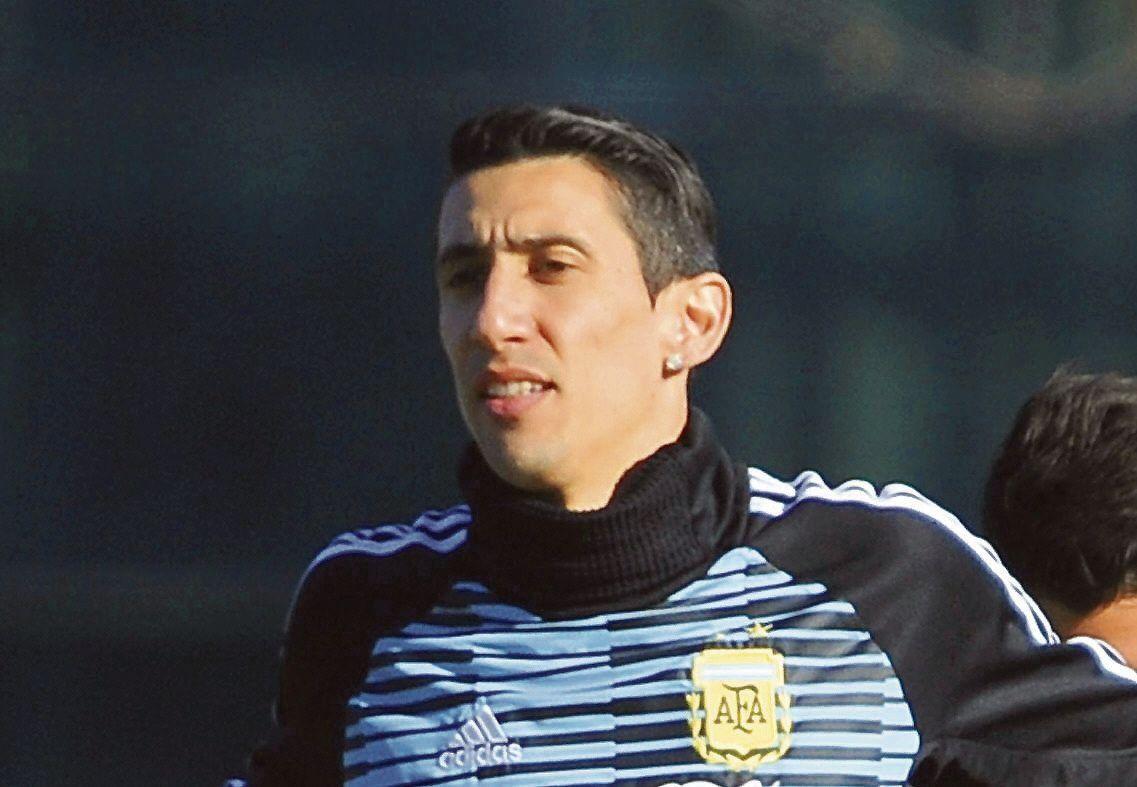 Junto a Messi