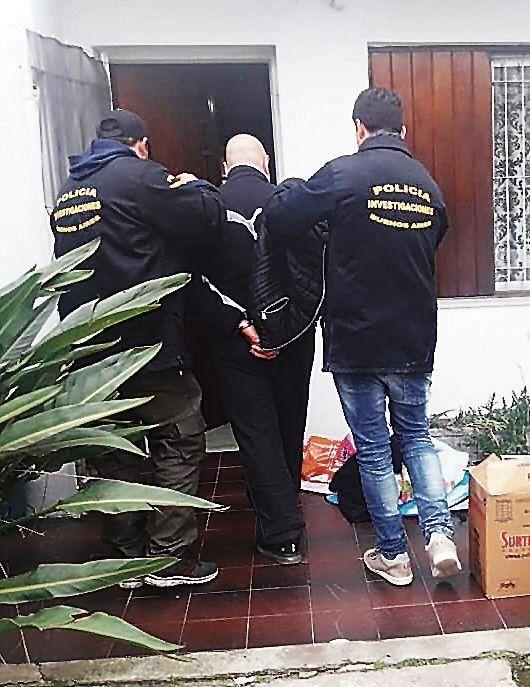 Detienen a un sindicado líder narco