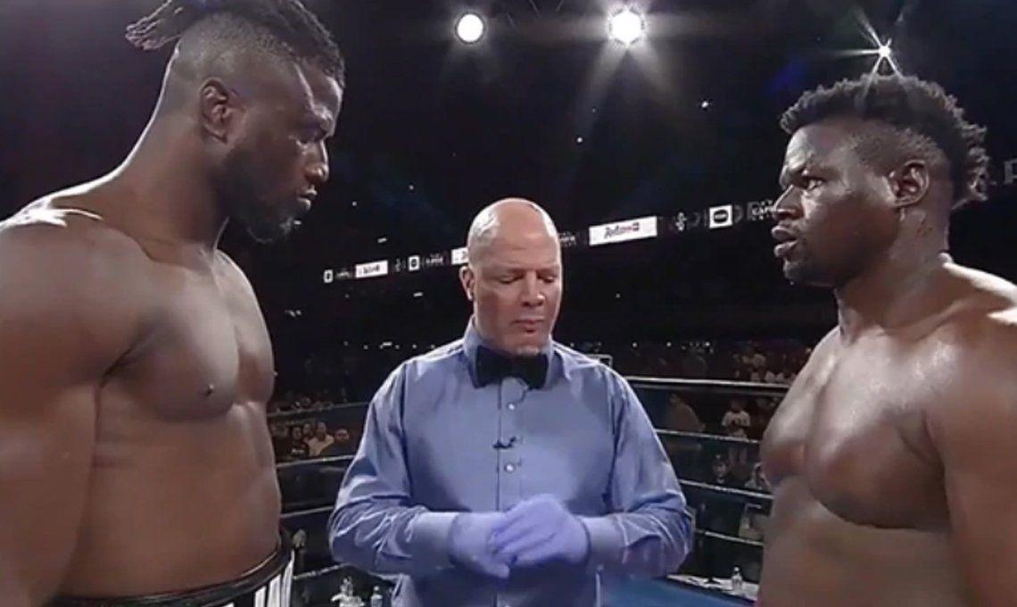 Sin dar un golpe, Efe Ajagba se convirtió en el boxeador con la victoria más rápida de la historia