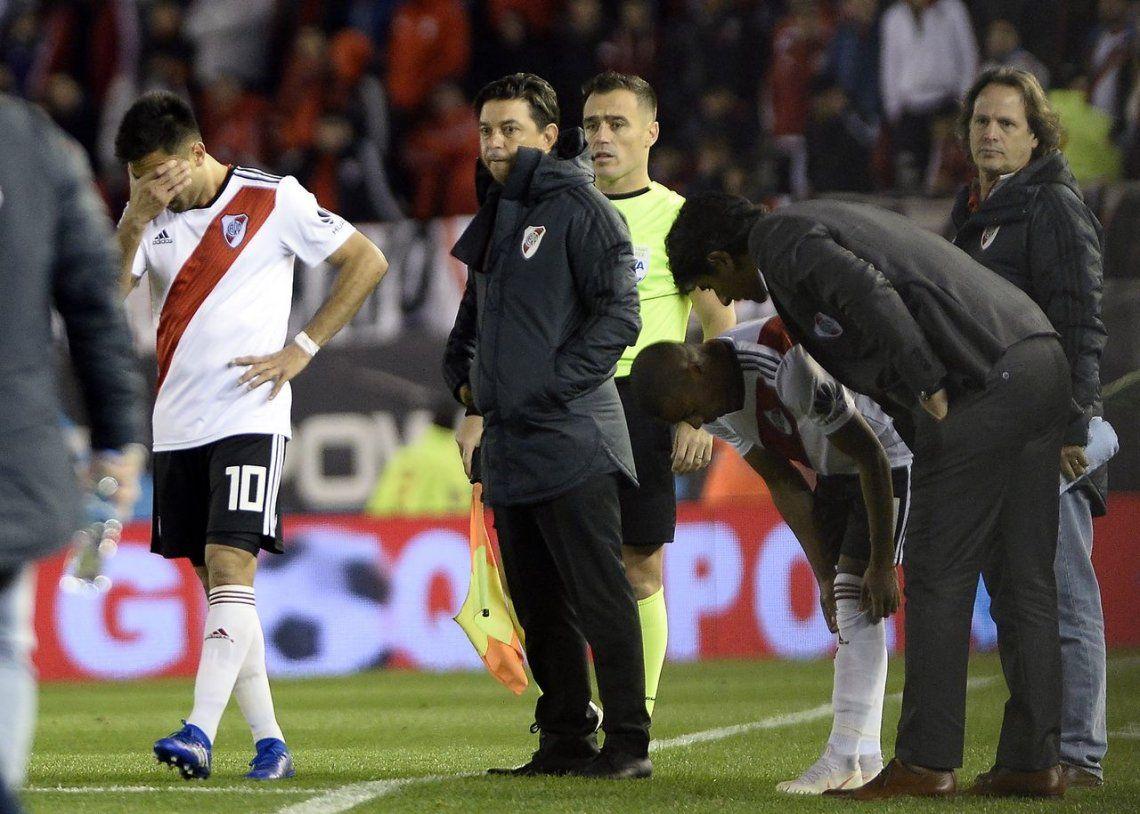 Gallardo, caliente con la Conmebol: qué dijo tras el empate de River