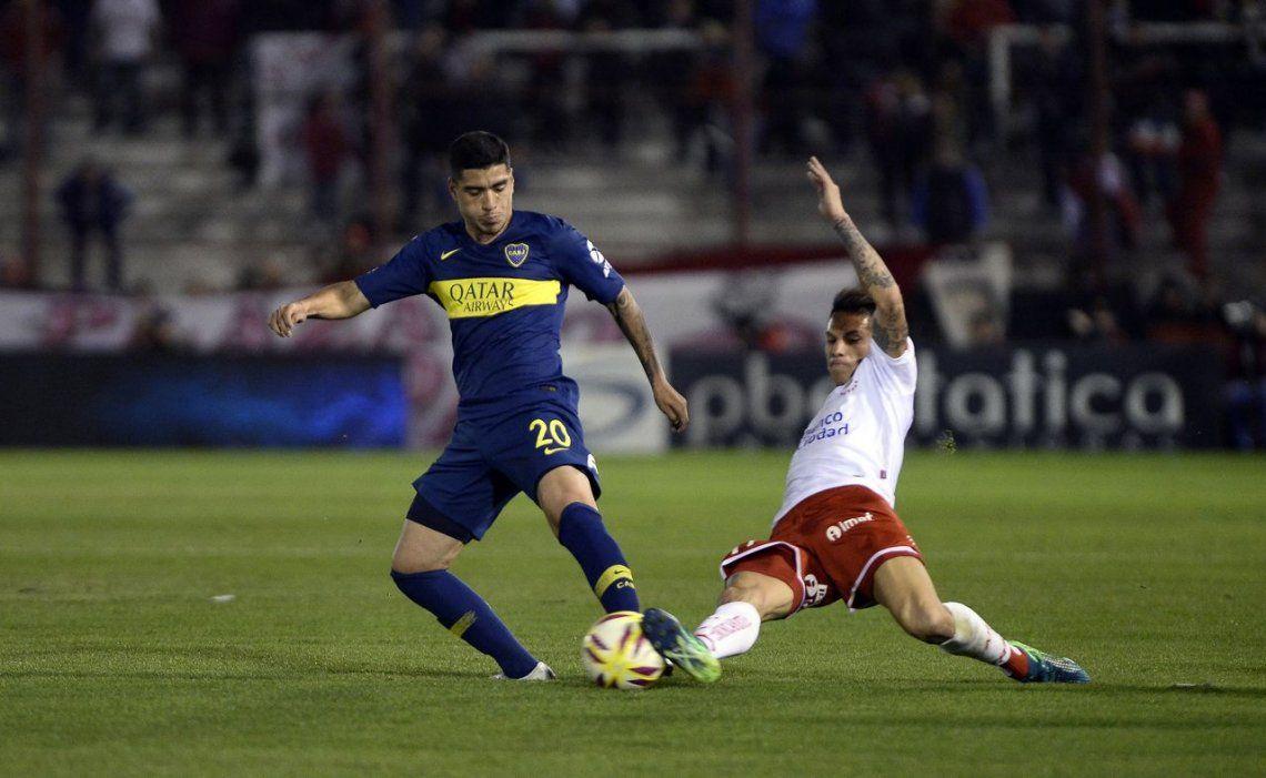 Boca no pudo con Huracán y sigue sin arrancar en la Superliga