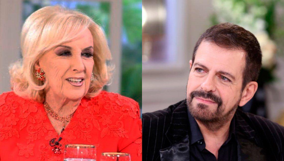 Guillermito Fernández le cantó las cuarenta a Mirtha Legrand