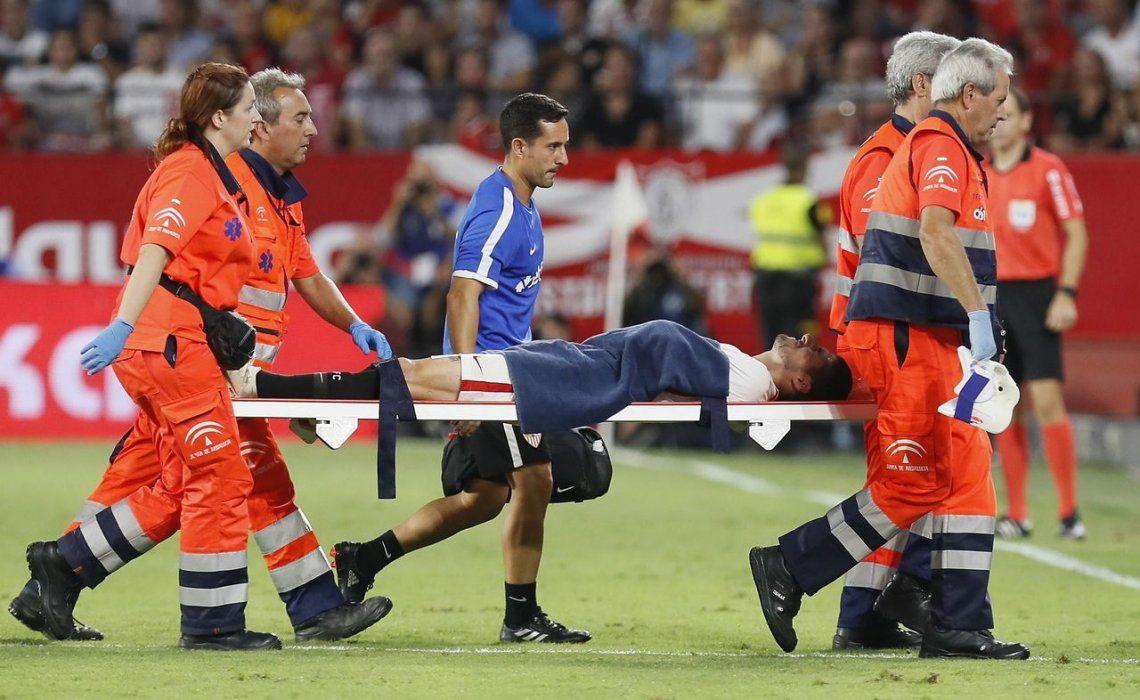 Escalofriante: las impactantes lesiones de dos futbolistas españoles