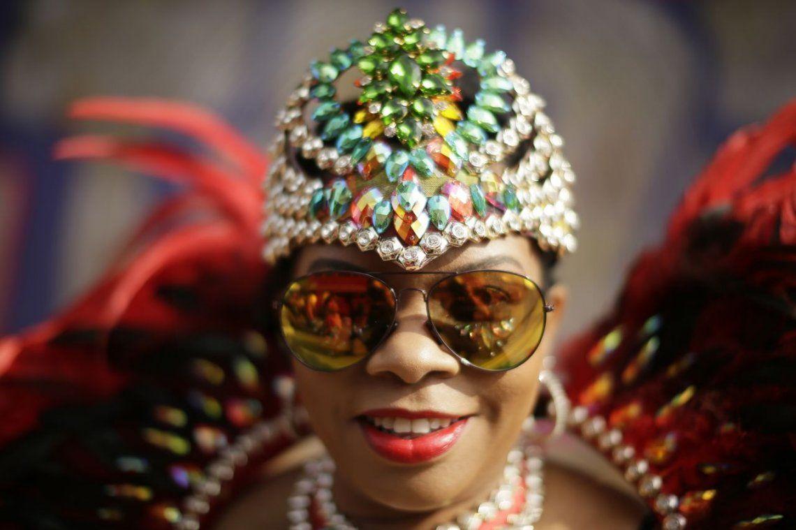 Todo el color del Carnaval londinense de Notting Hill