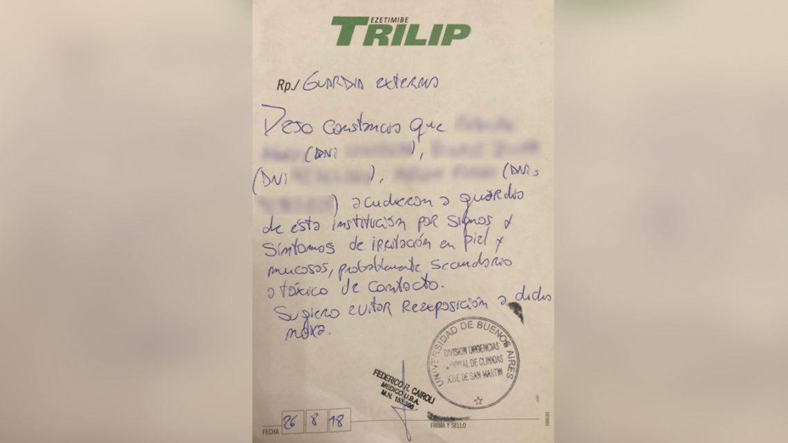 Polémica por las intoxicaciones tras los allanamientos a Cristina